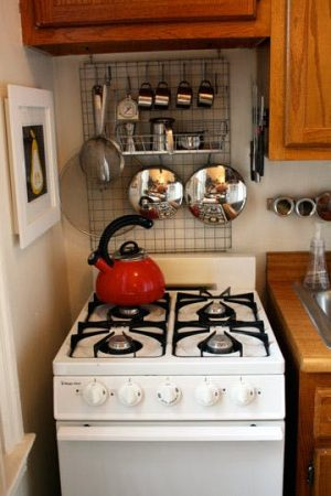11 of the best home organizing ideas for anyone 39 s budget for Small kitchen hacks