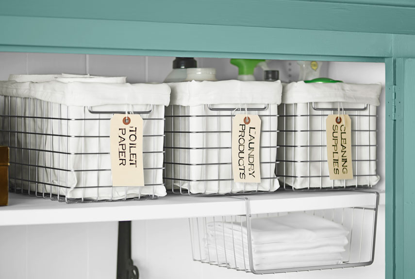 Supply Closet Organization Ideas Part - 46: 13 Ways To Get A Super Organized Linen Closet With Little Effort | Of Life  + Lisa