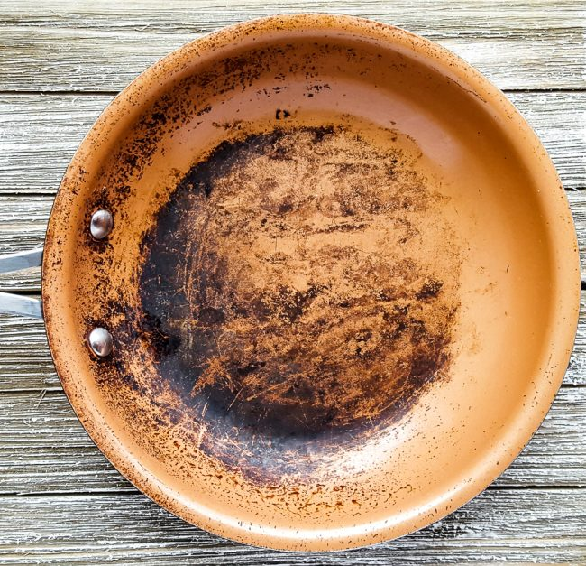 How To Clean Your Burnt Ceramic Pans Naturally